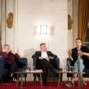 Bank-Austria Salon, Patrick Catuz und Christine Bauer-Jelinek